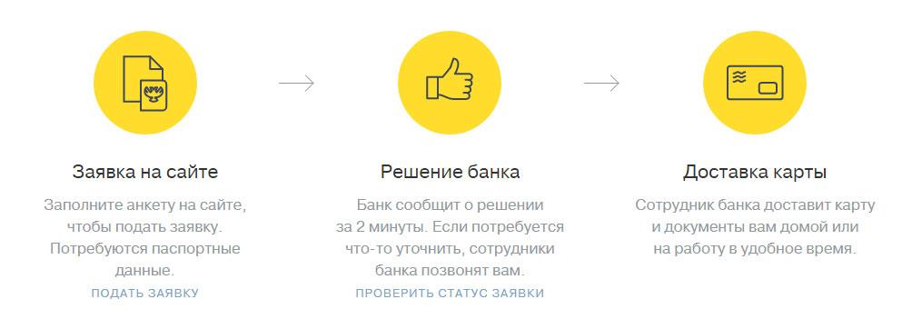 тинькофф онлайн заявка на кредит 300000
